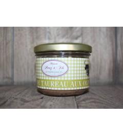 Terrine de taureau aux olives 180grs